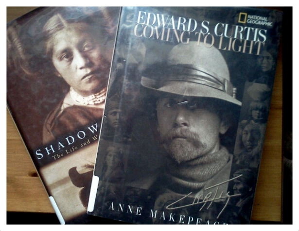 Books about Edward Curtis